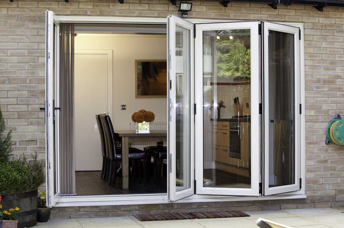 saje upvc bi fold doors in hampshire dorset sussex surrey