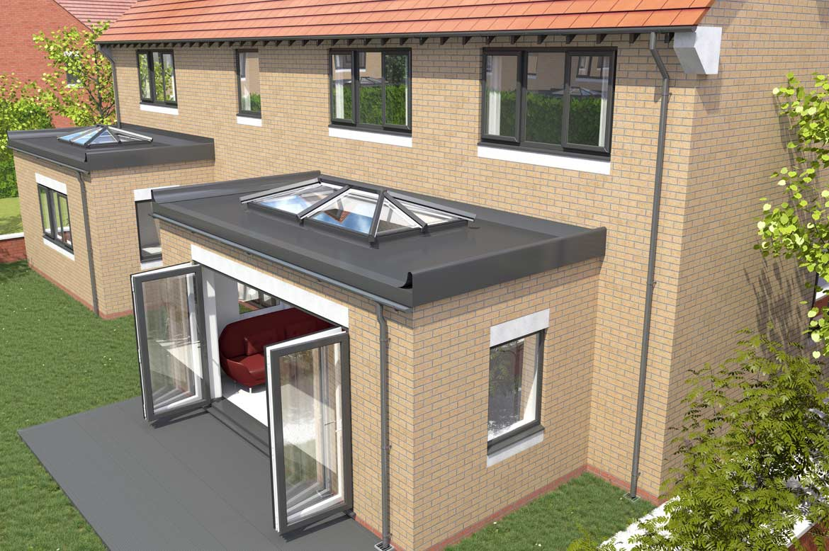 Saje upvc flat roof skylights in hampshire dorset sussex for Balcony upstand
