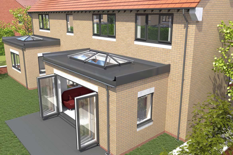 Saje UPVC Flat Roof Skylights in Hampshire, Dorset, Sussex ...