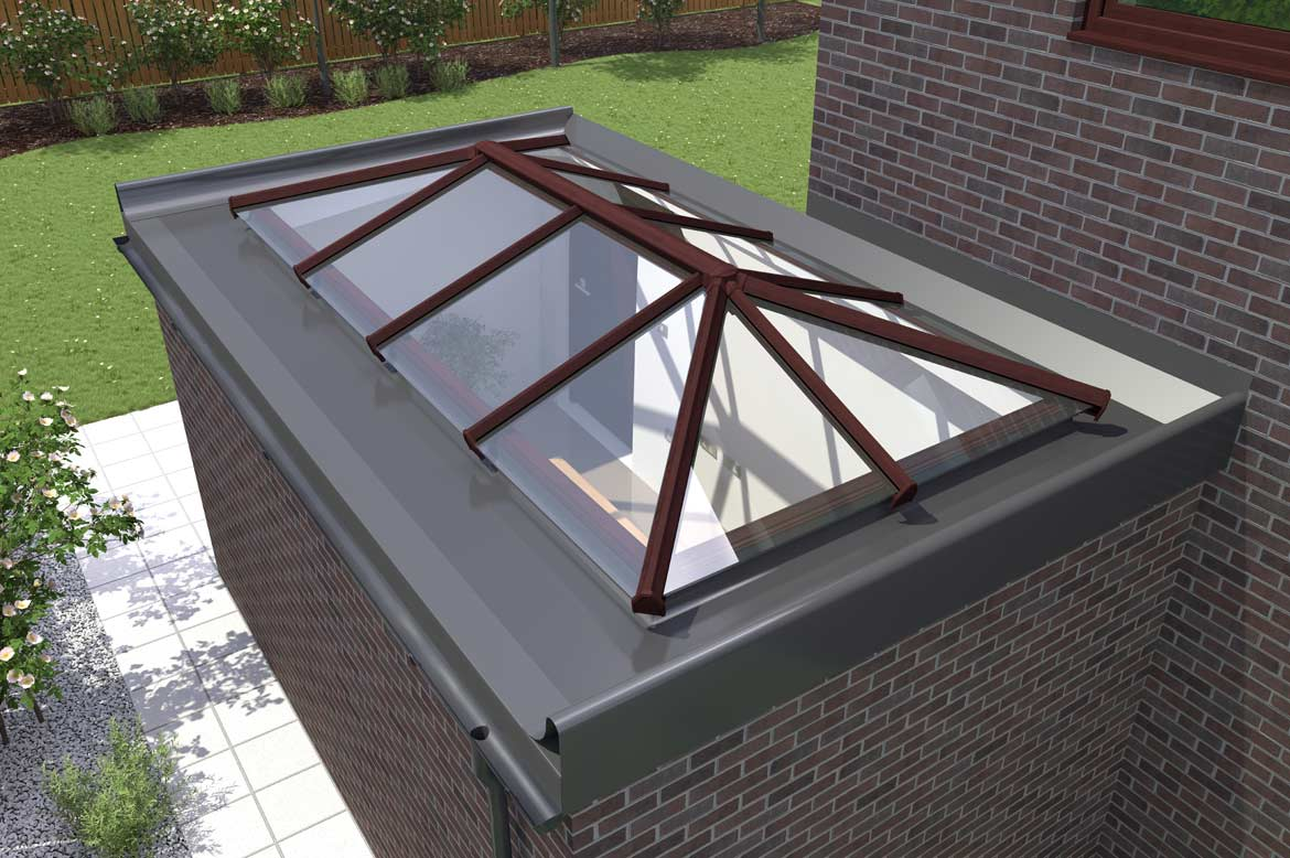 Saje Upvc Flat Roof Skylights In Hampshire Dorset Sussex