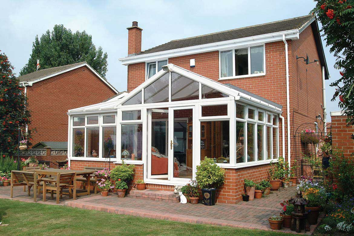 Few conservatory styles can capture the grandeur of the Gable