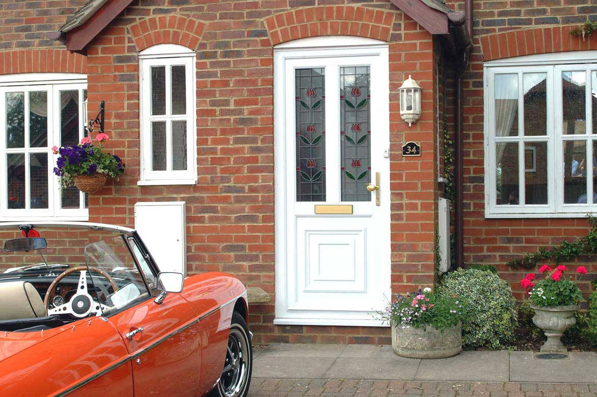Doors need to look good, but security, maintenance and insulation are all important too
