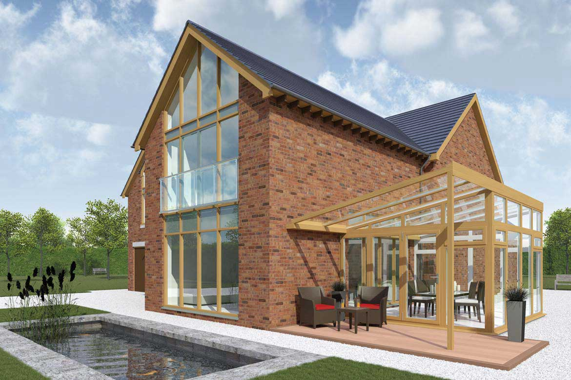 Giving you scope to create the ultimate conservatory of your choice